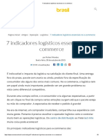 7 indicadores logísticos essenciais no e-commerce