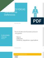 Clase teórica 5 Funciones yoicas y mecanismos defensivos