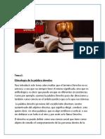 Tema I- El Derecho Como Ciencia