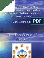 The 10 Gurus of Sikhism