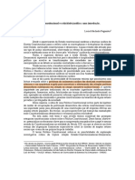Politica constitucional e criticidade jurídica (grifado)