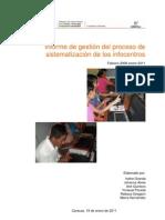 Informe Gestion Sistematizacion Infocentros 2008 2011
