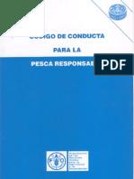 Codigo de Conducta Pesca Responsable