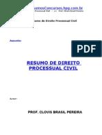 Resumo De Direito Processual Civil - Clovis Brasil Pereira