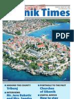 The Sibenik Times, August 30th