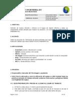 PROCEDIMIENTO DE MANEJO DEL EQUIPO DE REGISTRO ELECTRICO