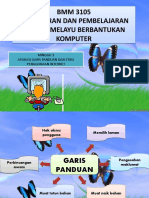 APLIKASI GARIS PANDUAN & PENGGUNAAN INTERNET
