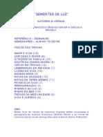 Sementes de Luz (Psicografia Chico Xavier e Carlos a. Bacelli - Espíritos Diversos)