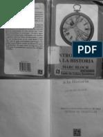 Bloch - Introducción a la Historia