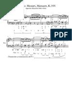 Análisis Mozart - Partitura Completa