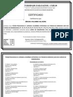 certificado fórum jornada acadêmica