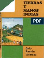 TIERRAS Y MANOS INDIAS