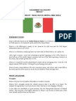 Assignment on MEXICO