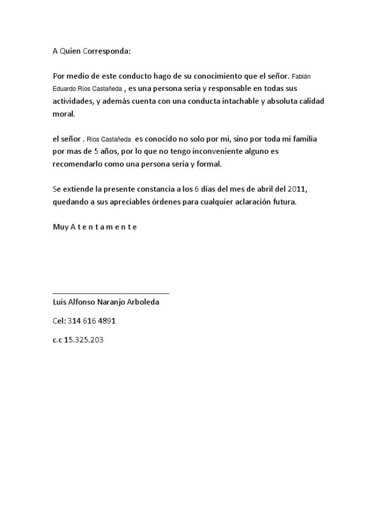 formato referencia personal pdf