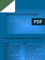 Conducta Asertiva y Empatía