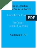 TRABALHO DE FILÓSOFIA