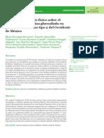 Efectos del ejercicio físico sobre el nivel de hemoglobina glucosilada en pacientes diabéticos tipo 2 del Occidente de México