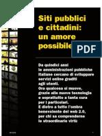 Siti pubblici e cittadini
