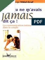 Mais Tu Ne m'Avais Jamais Dit Ça ! _ La Communication Intime Dans Le Couple ( PDFDrive )