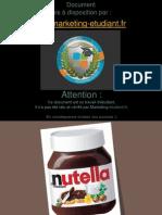 Etude Marketing Cas Nutella