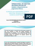 3 - AVANCES INGENIERIA CLÍNICA