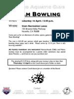 VJO Team Bowling 2011