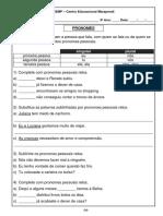 Apostila de Português 4º Ano Vol 2 Páginas 9 23
