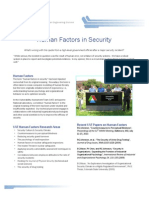Human Factors in Security