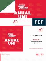 Anual Uni-Semana 21 Literatura