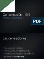 Comunicaciones móviles (3G, 4G)