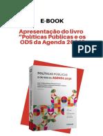 E-book  de Apresentação - Políticas públicas e os ODS da Agenda 2030