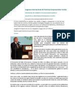 Dircurso Inauguración CIPEV - Roberto Passailaigue