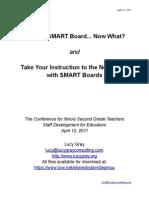 SMART Board Handout for SDE Preso
