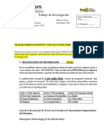 Proyecto de Investigación INTERNET Agosto 2014