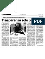 20110304 - Trasparenza solo predicata