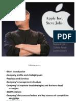 Apple-Steve Jobs