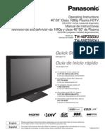Panasonic - TH46PZ850U