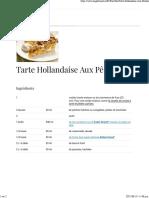Eagle Brand® | Tarte Hollandaise Aux Pêches
