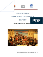 Final Report Safe Schools Conference Indonesia Jakarta Dec 2010