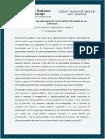 Formalidades a Las Que Están Sujetos Los Actores Del Servicio Judicial en Sus Actuaciones