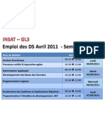 Emploi DS Avril 2011