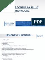 Delitos Contra La Salud Individual 2021