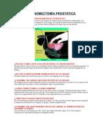 Adenomectomía prostática