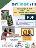 WaterFest 2011 Flyer