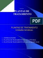 1 INTRODUCCIÓN A LAS PLANTAS DE TRATAMIENTO