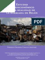 Estudio socioeconómico de la realidad de la barriada de Belén