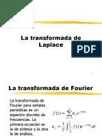 1 La transformada de Laplace