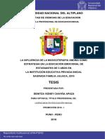 Chayña Apaza Denitza Vizney