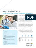 Guava ViaCount Assay - Rapid, Accurate Cell Counting & Viability Assessments