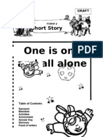 Form 2 - Short Story - One Is One and All Alone